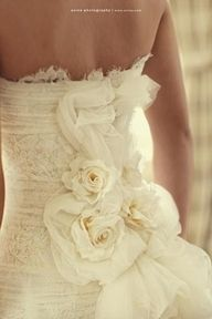 Flowers,Lace and Strapless...