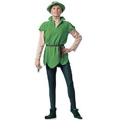 New Peter Pan Adult Unisex Halloween Costume --- http://viewn.us/10n
