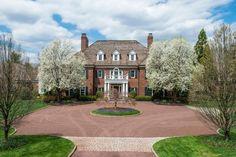 Georgian mansion - Greenwich Connecticut