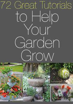 Garden Tutorials :: Barb Rosen's Clipboard On - 72 Great Tutorials To Help Your Garden Grow