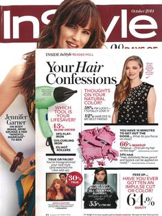Harry Josh Pro Tools dryer featured in InStyle's October 2014 issue!