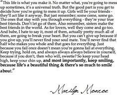 Something every girl should read and go by