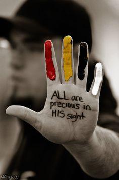 JESUS loves all the children of the world!