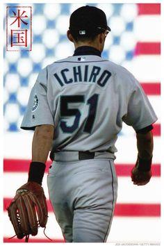 Ichiro. Mariners.