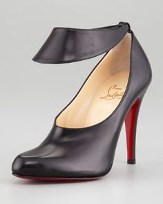 Christian Louboutin Miss Zora Calfskin Necklace Boot