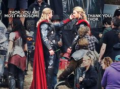 Me, every morning... to my mirror.  #thor   #movies   #stuntdoubles   #utah   #lol