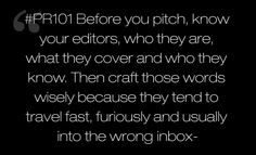 #PR101- Know your editors-