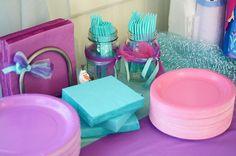 tea parti, parti decor, stella birthday, birthday parties, frozen parti