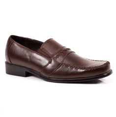 Mens Dress Shoe - dark brown