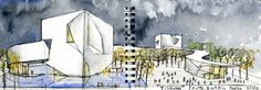 Steven Holl Wins Competition for Qingdao Culture and Art Center