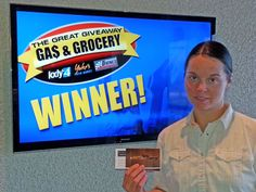 Sara Cummings just won $100 in The Great Gas & Grocery Giveaway from KXLY4, Divine's & Yokes! Just watch KXLY4 News for your chance to win.