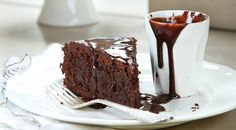 עוגת שוקולד ושקדים מבולוניה - ללא קמח