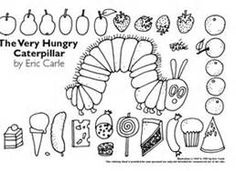 idea, hungrycaterpillar, book, coloring, hungry caterpillar, eric carl, preschool, hungri caterpillar, kid