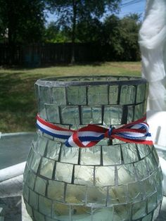 Easy and cute ribbon idea