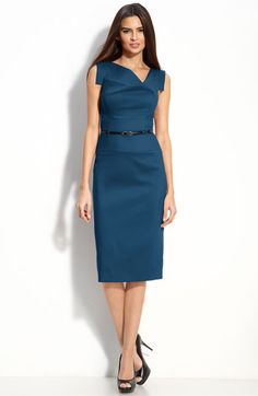 Perfect work dress.. I want one in every color