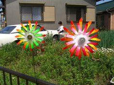 Preschool Crafts for Kids*: Plastic Bottle Double Pinwheel Craft 3