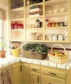 painting the cabinets in kitchen will brighten up the space