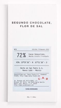Casa Bosques Chocolate Packaging
