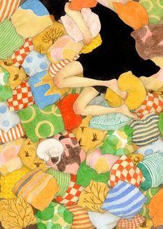 a billion tastes and tunes: Rie Nakajima