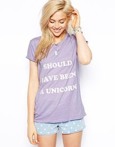 I should have been a unicorn