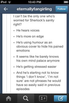 BUT, he's also letting people in and showing more depth/emotion. Remember the Mycroft/hat scene and his best man speech? man speech