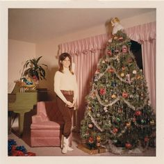 GoGo boots,a piano,and a christmas tree...