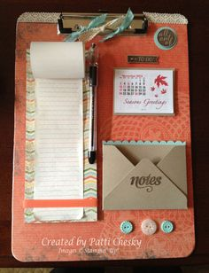 Way to use October's Paper Pumpkin kit
