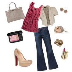 Style #fashion #style jean, jacket, color, fashion styles, dress, pink, closet, natural girls, style fashion