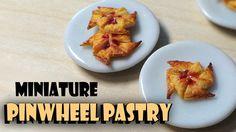 Miniature Pinwheel Pastry - Polymer Clay Tutorial