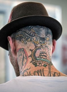 Tattooed Neck