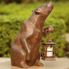Bear Garden Décor
