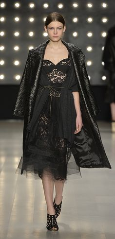 Look 30 @ the MILLY Fall 2014 Runway Show @danceroff-duty #milly