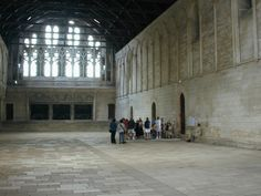 Great hall of Poitou built by King Henry II of England and Eleanor of Aquitaine