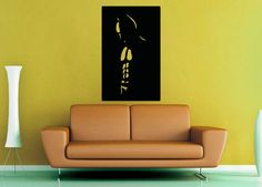 Batman Shadow  Wall Vinyl  Medium by WallsOfText on Etsy, $18.95