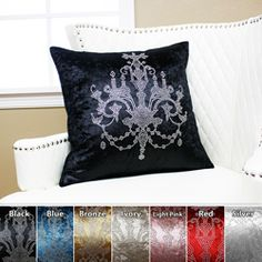 Accent pillows for music room