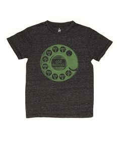 This Granite 'Old School' Tee - Toddler & Boys is perfect! #zulilyfinds