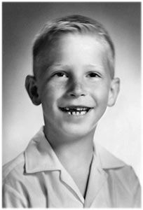 Bill Gates at age 9, in 1965