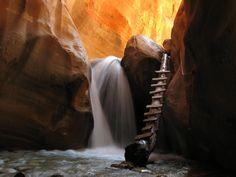 Kannaraville Falls, Utah. 15 min out of Cedar!