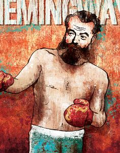 Hemingway Print