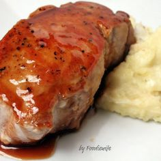 Cider-Glazed Boneless Pork Loin Chops