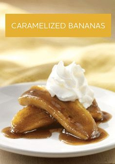 This Caramelized Bananas recipe is a unique way to satisfy your sweet tooth. Plus, there's just 10 minutes of prep!