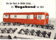 Vintage mobile home | Factory built history | 1955