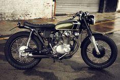 Honda CB350.
