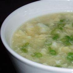 Restaurant Style Egg Drop Soup Recipe