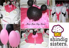 minnie baby shower ideas