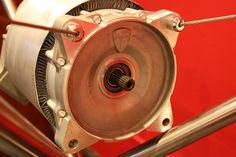 Tesla Roadster electric motor by anachrocomputer, via Flickr