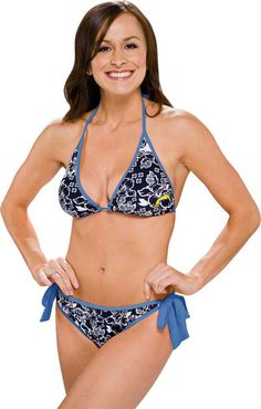San Diego #Chargers Bikini.