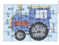 Division Puzzle Covers Divisor 2