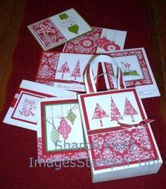 Christmas one sheet wonders wonder card, craft, templat, osw, stampin, christmas, gift bag, septsharesp 086, one sheet wonders