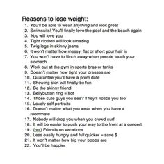 reasons to be fit, well uh yeah. Yes please!